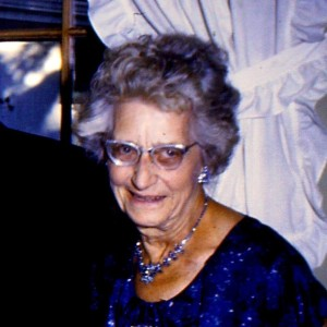 Gertrude Upham, 'Nanny'